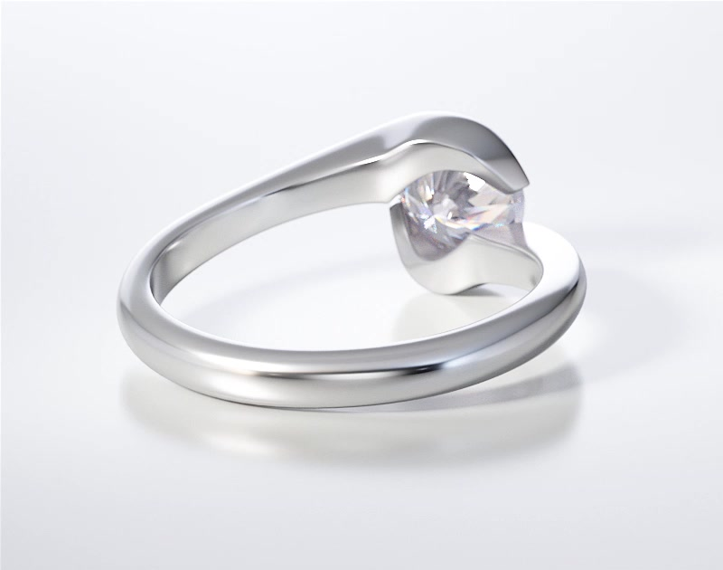 SOLITAIRE RING ENG011