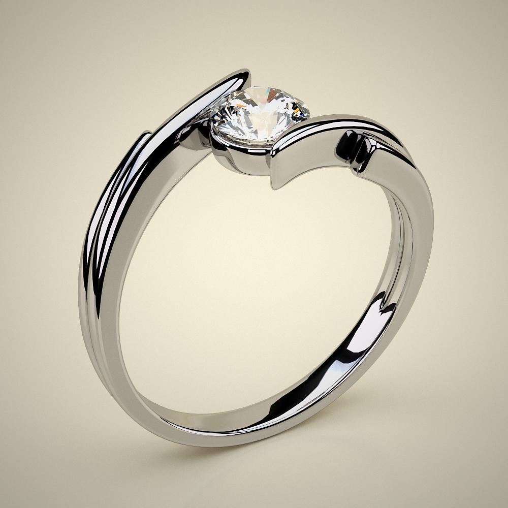 Μονόπετρο Δαχτυλίδι ENG01