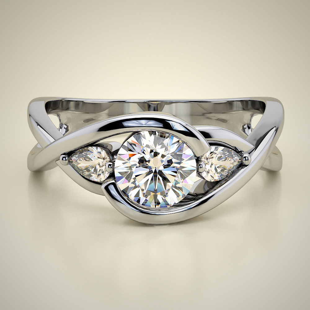 AVE SOLITAIRE RING ENG064