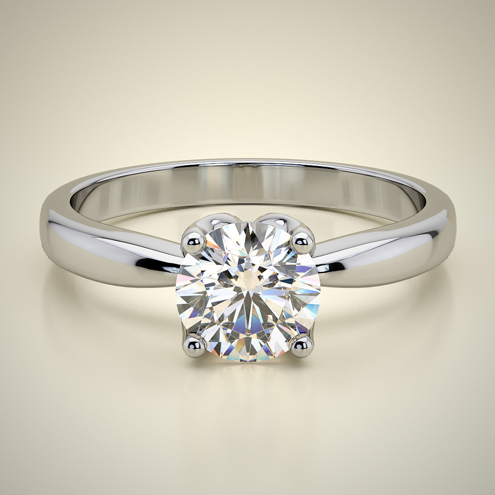 SOLITAIRE RING ENG072