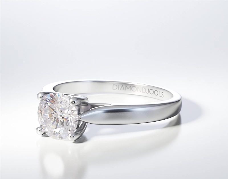 SOLITAIRE RING ENG071
