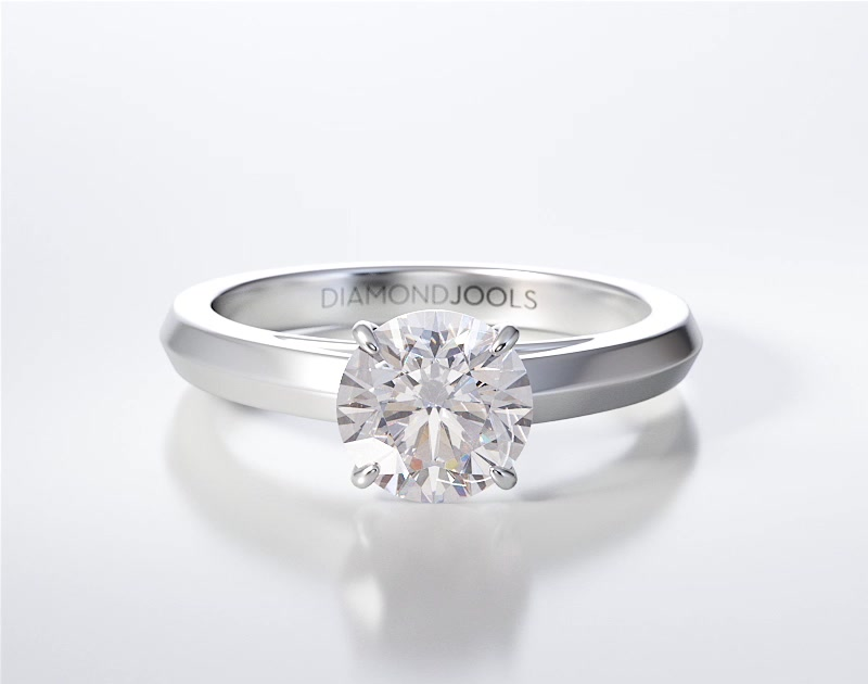 SOLITAIRE RING ENG08