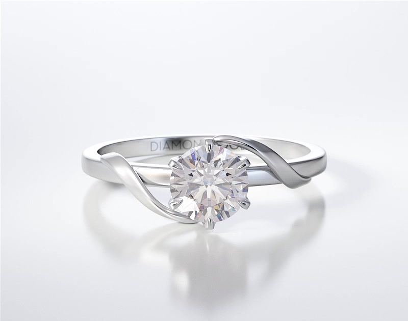 SOLITAIRE RING ENG019