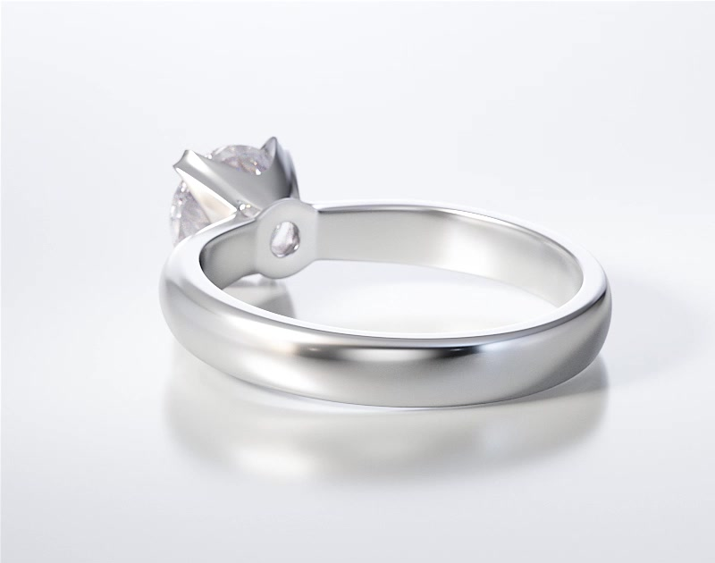VERY FINE SOLITARY / SOLITAIRE RING ENG 02