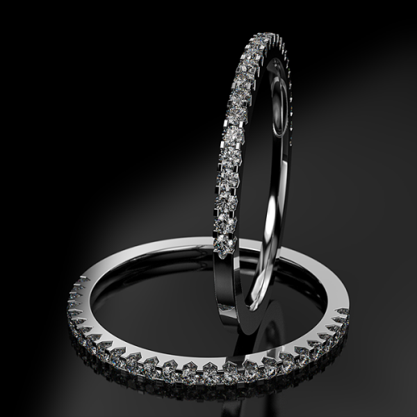 Half-eternity Ring ETH 012 0,25CT