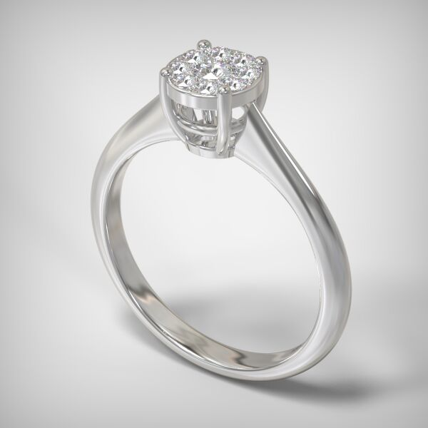 Invisible ring EM06-0.19CT