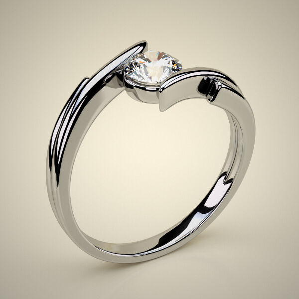 VERY FINE SOLITARY / SOLITAIRE RING ENG 01