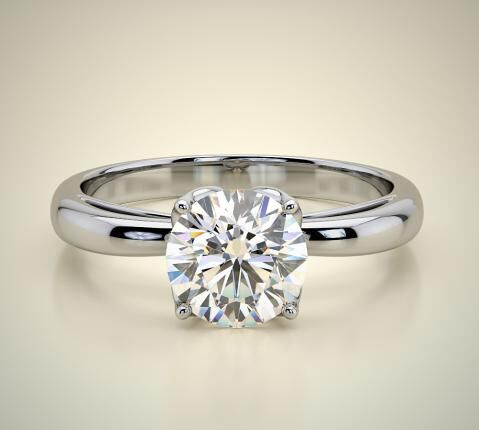 VINTAGE SOLITARY / SOLITAIRE RING ENG 04