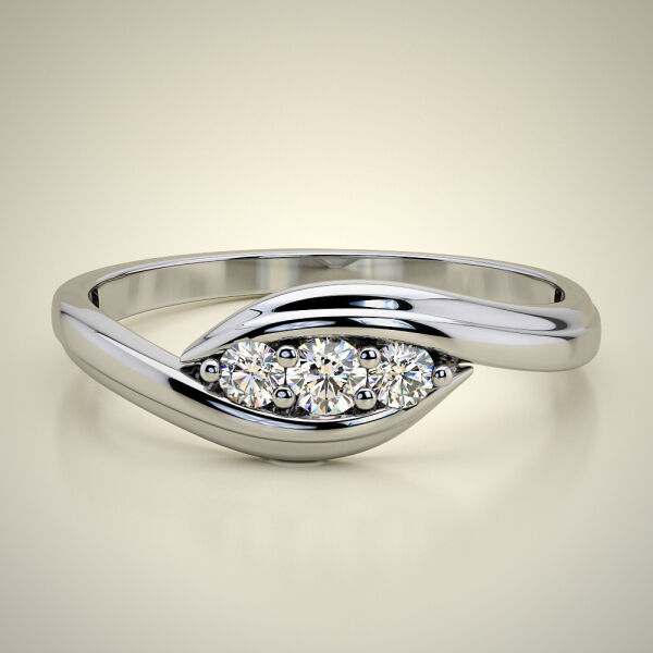 PAVE SOLITAIRE RING ENG062