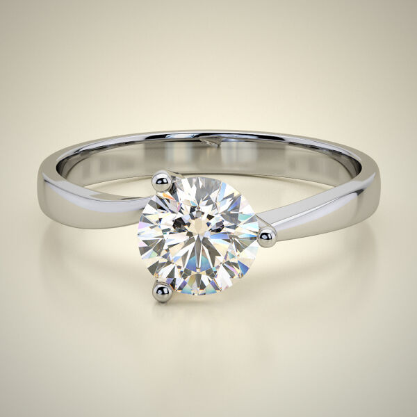 SOLITAIRE RING  ENG069