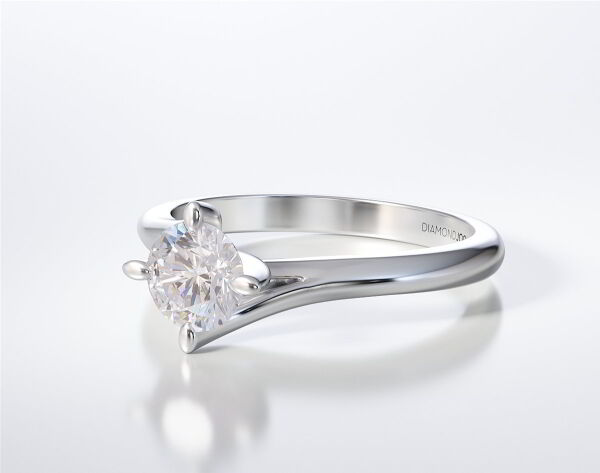 SOLITAIRE RING LR266