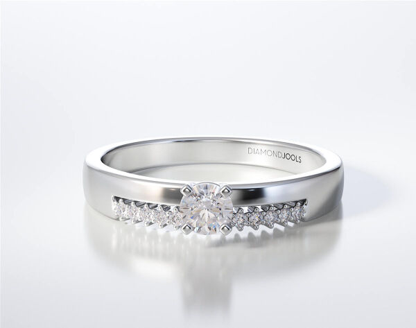 SOLITAIRE RING LR330