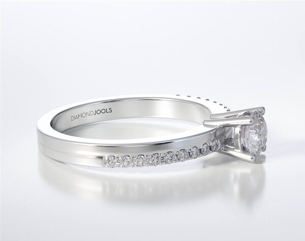 SOLITAIRE RING  LR325