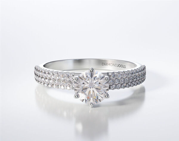 SOLITAIRE RING LR259