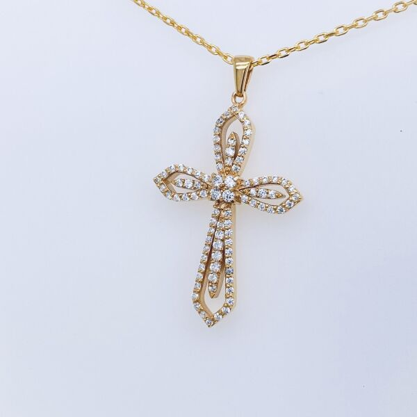 Cross Necklace DC201