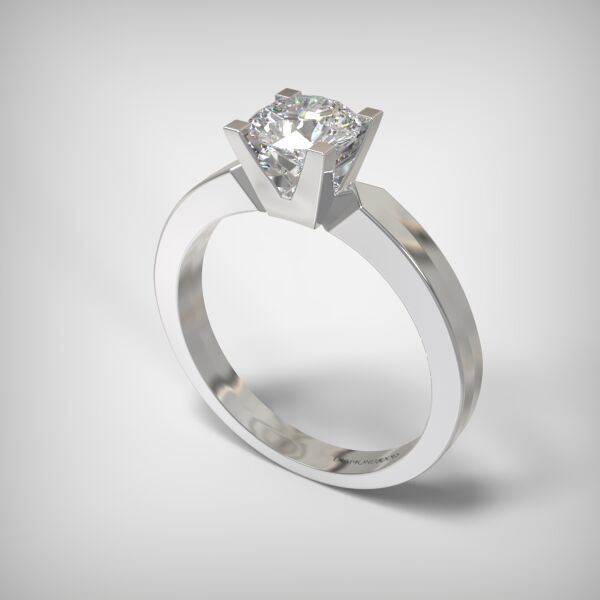 SOLITAIRE RING LR251