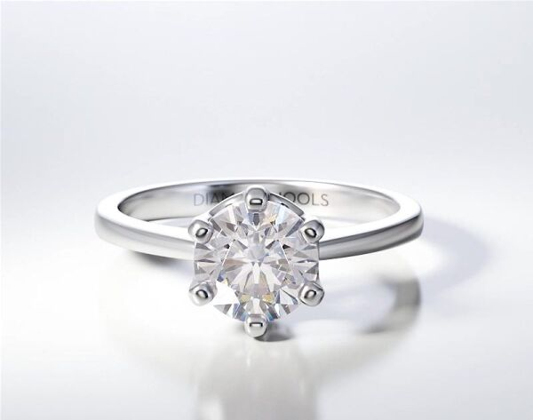 SOLITAIRE RING ENG075