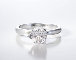 SOLITAIRE RING ENG014