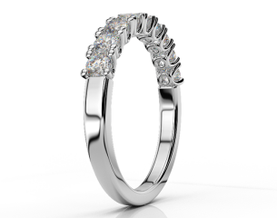 Ηalf-eternity ring ETH 03 0,81CT