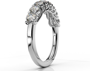 Half-eternity Ring ETH 04 1,04CT