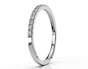 Half-eternity ring  ETH 06 0,19CT