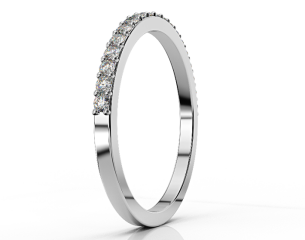Half-eternity Ring ETH 010 0,38CT
