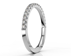 Half-eternity Ring ETH 012 0,38CT