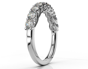 Half-eternity Ring ETH 04 0,90CT