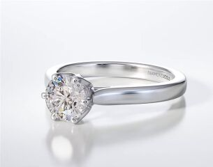 SOLITAIRE RING ENG097