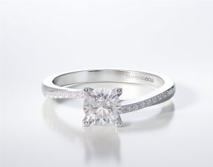 SOLITAIRE RING LR264