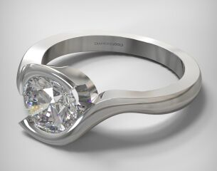 SOLITAIRE RING  LR219
