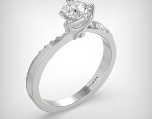 SOLITAIRE RING  LR220