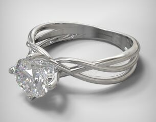 SOLITAIRE RING LR230