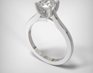 SOLITAIRE RING  LR238