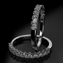 Half-eternity ring ETH 03 0,46CT