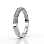 Half-eternity ring ETH01 0.74 ct